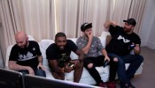 NBA Champion Kyrie Irving Checks Out 'Call Of Duty: Black Ops 3' New DLC Content In San Francisco