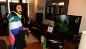 Wii Fit U Brings Fun And Fitness To The Nintendo Chalet During 2014 Sundance Film Festival - Day 4 - 2014 Park City
