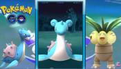 Wild Rare LAPRAS Got Caught w/ Epic Max Pokemon Gym Battle - Pokemon Go